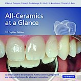 "Cover von ""All-Ceramics at a Glance"" in der 3. English Edition."